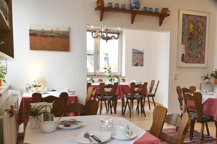 Frühstückszimmer von Hotel Salleck Garni