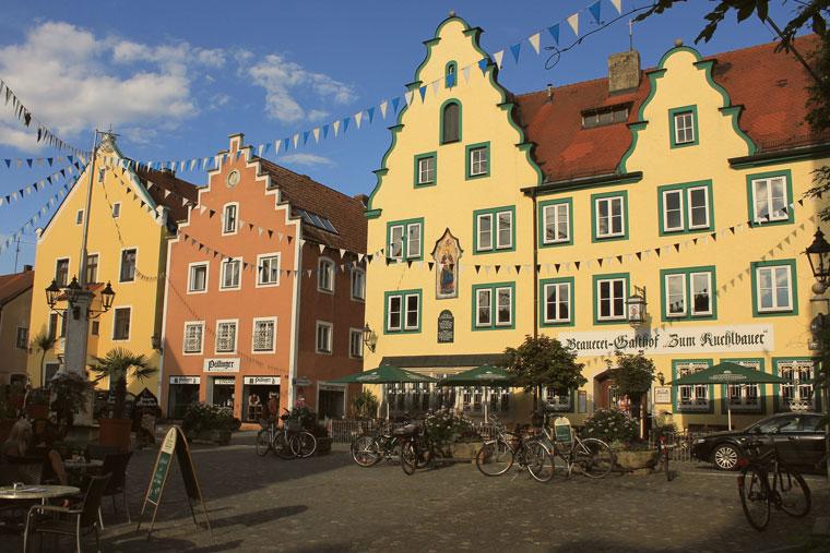 Stadt Abensberg in Bayern