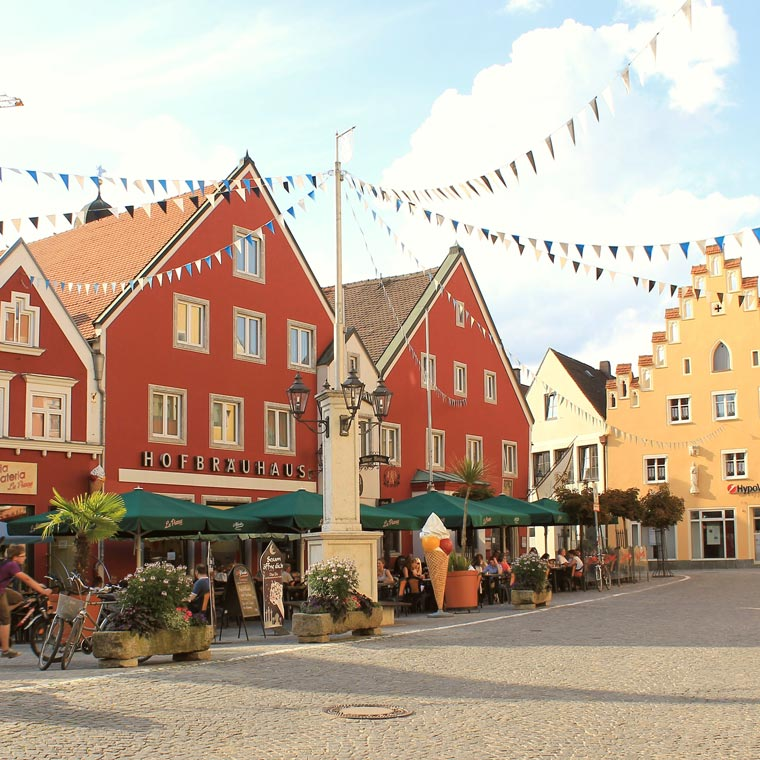 Stadt Abensberg erleben